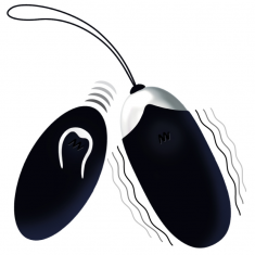 INTENSE FLIPPY II  VIBRATING EGG WITH REMOTE CONTROL BLACK - 1