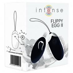 INTENSE FLIPPY II  VIBRATING EGG WITH REMOTE CONTROL BLACK - 2