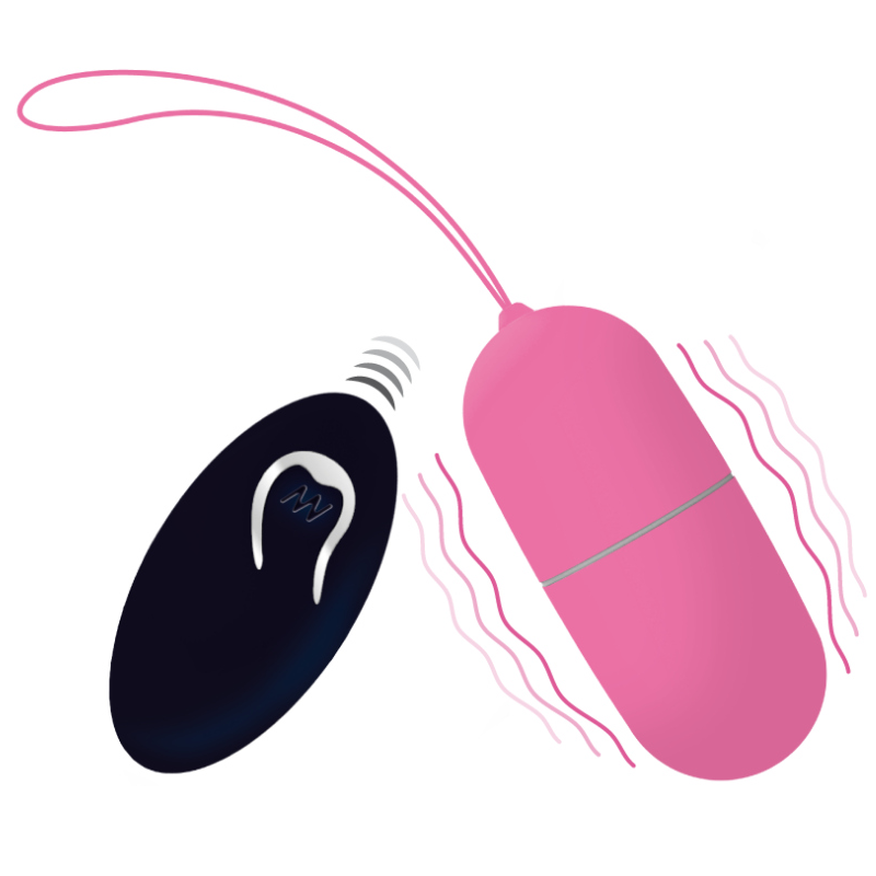 INTENSE FLIPPY I VIBRATING EGG WITH REMOTE CONTROL PINK - 1