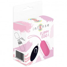 INTENSE FLIPPY I VIBRATING EGG WITH REMOTE CONTROL PINK - 2