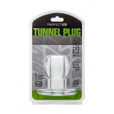 PERFECT FIT ASS TUNNEL PLUG SILICONE CLEAR L - 1