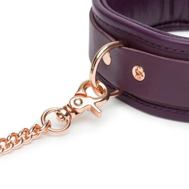 FIFTY SHADES FREED LEATHER COLLAR AND LEAD - 1