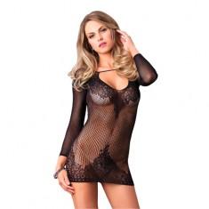 Leg Avenue Long Sleeved Mini Dress UK 8 to 14