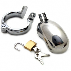 METAL HARD COCK RING RETAIN BRIG - 3