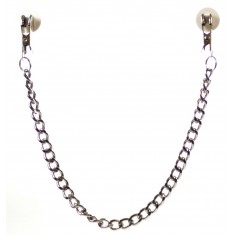 Nanma Chain Clasps Metal Chain Silver 14.5in