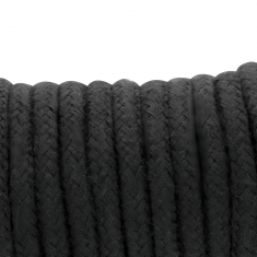 DARKNESS KINBAKU ROPE BLACK 20 M