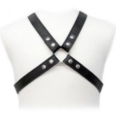 BODY LEATHER BASIC HARNESS IN GARMENT - 1