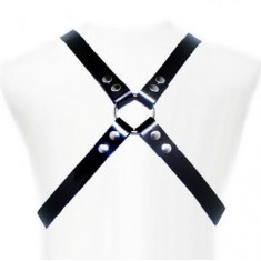 LEATHER BODY BASIC HARNESS - 1