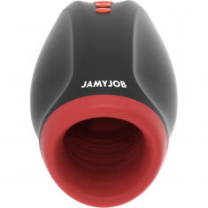 JAMYJOB NOVAX MASTURBATOR WITH VIBRATION AND COMPRESSION