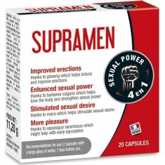 SUPRAMEN 20 CAPSULES SEXUAL POWER 4 IN 1