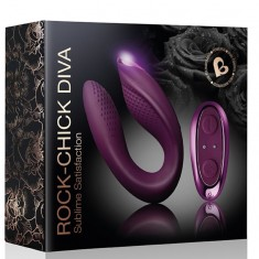 ROCKS-OFF CHICK DIVA REMOTE CONTROL TOY FOR COUPLES