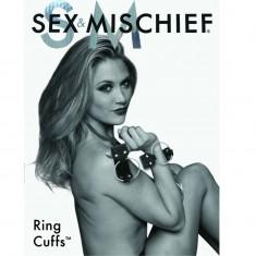 SEX & MISCHIEF S&M RINGS CUFFS